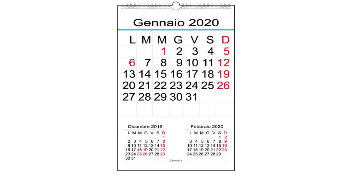 Calendario olandese cosa significa